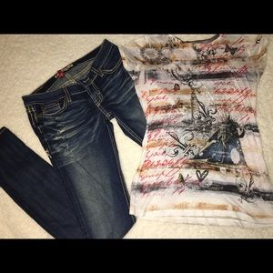 Outfit from buckle